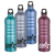 Gemstone Aluminum Sport Bottles with Logo - Custom Gemstone Sport Bottles