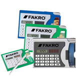Custom Calculator with Business Card Holder - Eco-Friendly Calculators