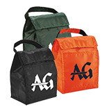 Imprinted Promotional Lunch Tote Bags - Customized Logo Lunch Tote Bags