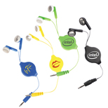 18656 - Soundwave Retractable Earbuds