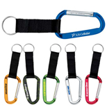 Clipper Carabiner Key Ring