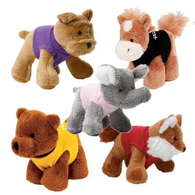 4 friends plush animal