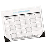 personalized full size desk calendar 2017