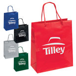 Personalized Emerald Gloss Eurotote - Imprinted Emerald Gloss Eurotote