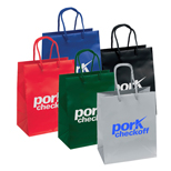 Promotional Crystal Gloss Eurotote - Custom Crystal Gloss Eurotote