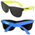Bulk Neon Sunglasses, Custom Logo Junior Neon Sunglasses in bulk
