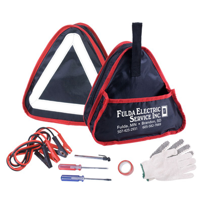 6 Piece Auto Emergency Kit