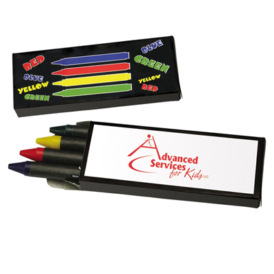 4-Piece Crayon Set