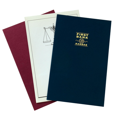 Legal Size Presentation Folder