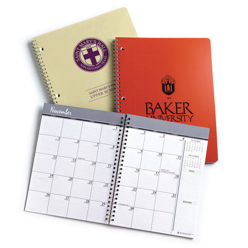 Monthly  Wirebound Planners
