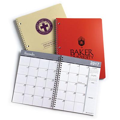 Month & Week Wirebound Mini Planners