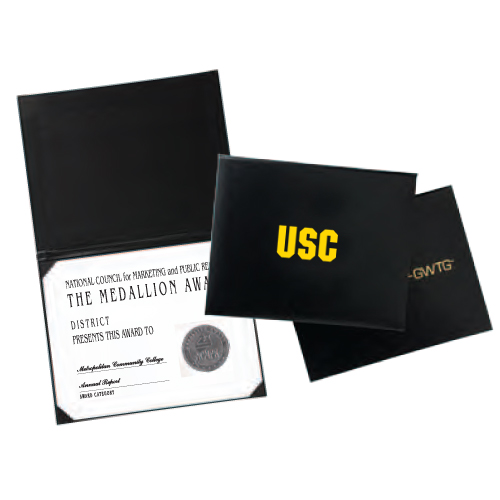 litho wrap certificate holder
