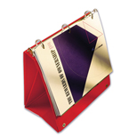 Custom Made Vinyl Binders - Imprinted Vinyl Platform Binders