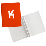 Company Presentation Folders with Logo, Business Tang n' Eyelet Folder