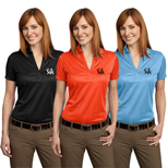 18949 - Port Authority Performance Jacquard Polo