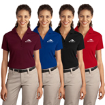 Customized Port Authority Interlock Polo Shirt