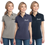 18963 - District Made Ladies Slub Polo