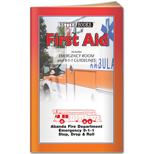 First Aid promotional books