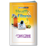 Health and Fitness Book –  fitness promotional items