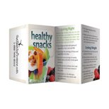 Healthy Snacks Key Point Guide - Printed Healthy Snacks Key Point guide