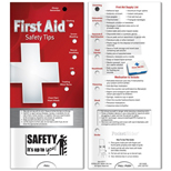 19049 - Pocket Slider - First Aid: Safety Tips