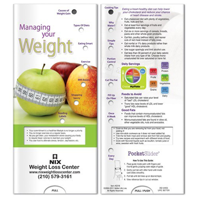 Pocket Slider - Managing Your Weight