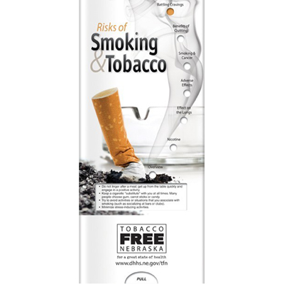 Pocket Slider- Risks Of Smoking And Tobacco