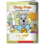 19085 - Drug Free is the Way for Me! Coloring Book