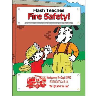 Flash Teaches Fire Safety