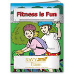 19087 - Fitness is Fun Coloring Book