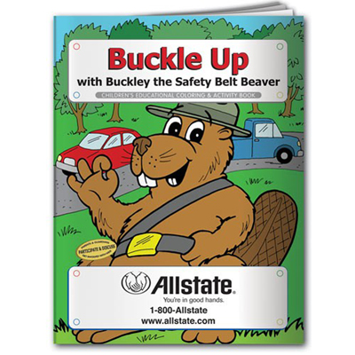 Buckle Up For Safety Coloring Book