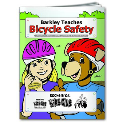 Bike Safety Coloring Book