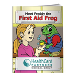 Hospital Promotional Products - Freddy The First Aid Frog