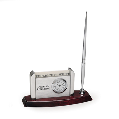 Envoy Desk Clock