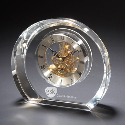 Copenhagen Glass Clock