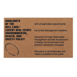 19160 - Corrugated Jumbo Business Card Magnet