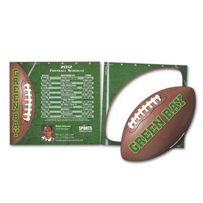 Car Sign Schedule Magnet  - Football Punch Out