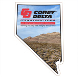 19188 - Nevada Shaped Magnet