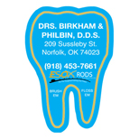 Custom Tooth Shaped Magnets - Promotional Tooth Shaped Magnets