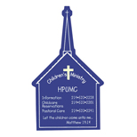 19217 - Church Magnet