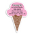 Custom Ice Cream Magnet - Promotional Ice Cream Magnet