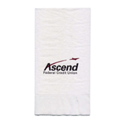 3-Ply White 1/8 Fold Dinner Napkin