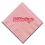 Promotional Colored Beverage Napkins - Custom Printed Colored Beverage Napkins