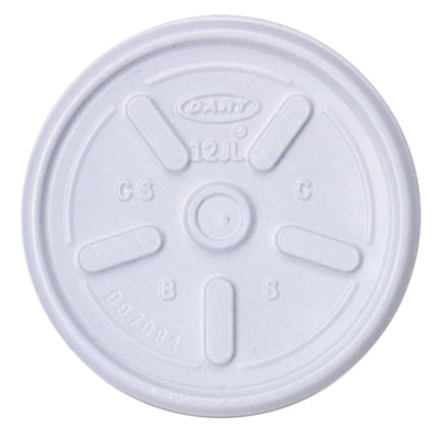 8 oz. Foam Cup Tear Tab Lid