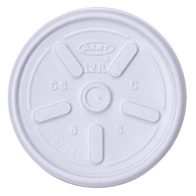 10 oz. Foam Cup Tear Tab Lid