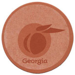 Logo Coasters in Bulk - Round Bulk Branded Coasters