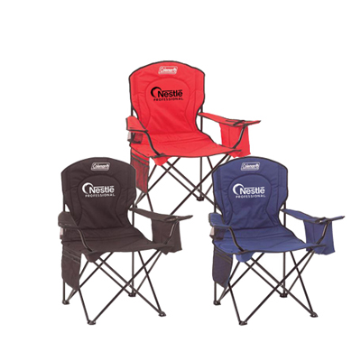 Promotional Coleman Cooler Quad Chair - Custom Coleman Cooler Quad Chair
