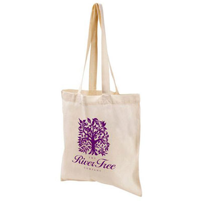 value economy cotton tote - natural