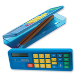 Personalized Calculator Pencil Box - Custom Printed Calculator Pencil Box