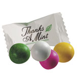 "19336 - Asst. Pastel Chocolate Mints ""Thanks"""